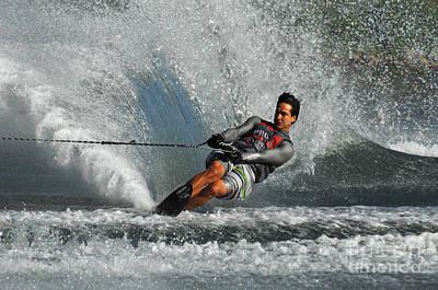 Water Skiing Magic Of Water 21 Poster