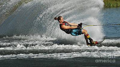 Water Skiing Magic Of Water 23 Poster