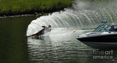 Water Skiing Magic Of Water 25 Poster