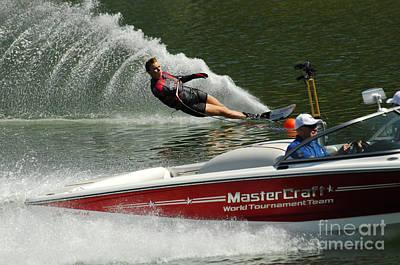 Water Skiing Magic Of Water 26 Poster