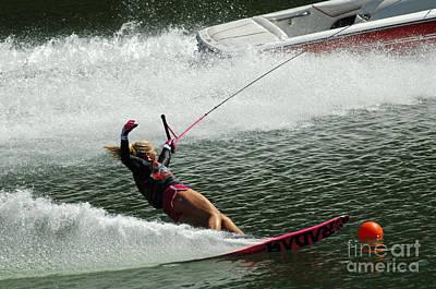 Water Skiing Magic Of Water 28 Poster