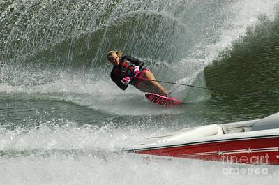 Water Skiing Magic Of Water 29 Poster