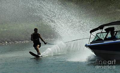 Water Skiing Magic Of Water 30 Poster