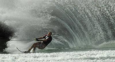 Water Skiing Magic Of Water 31 Poster