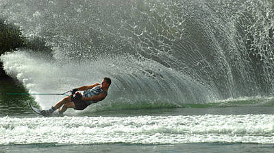 Water Skiing Magic Of Water 7 Poster