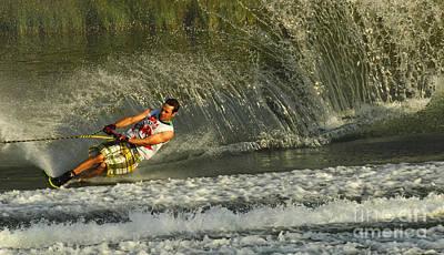 Water Skiing Magic Of Water 8 Poster