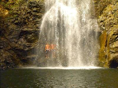 Waterfalls Montezuma Costa Rica Poster