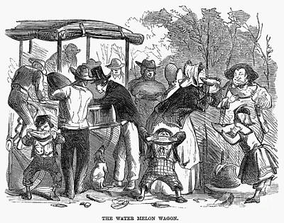 Watermelon Wagon, 1865 Poster by Granger