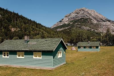 Poster featuring the photograph Waterton Camp Kitchens by Trever Miller