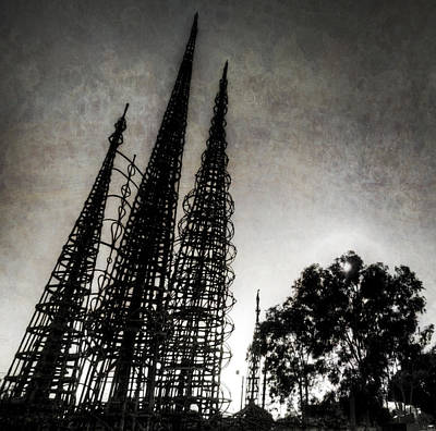 Watts Towers Poster