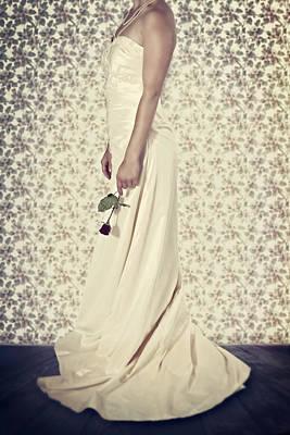Wedding Dress Poster by Joana Kruse