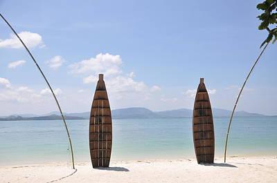 Welcome To Rang Yai Island Poster by Eustaquio Santimano