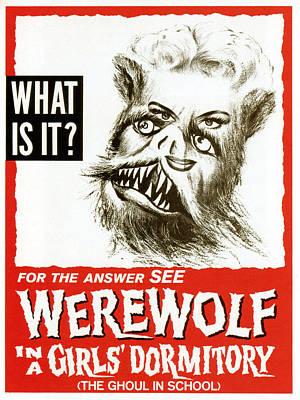 Werewolf In A Girls Dormitory, Aka Poster