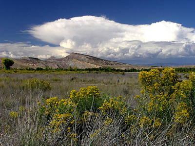 Western Colorado Cloudscape Poster