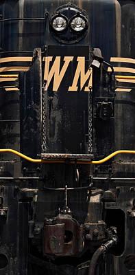 Western Maryland Diesel Poster