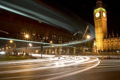 Westminster Lights Poster