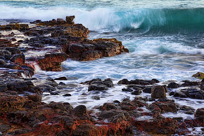 Wet Rocks Poster by Kelley King