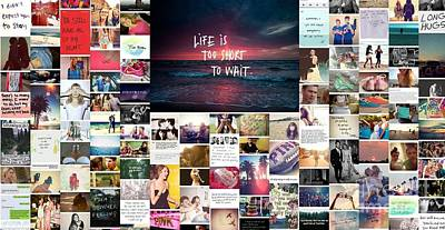 Poster featuring the photograph What Is Life To You by Holley Jacobs