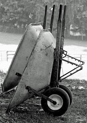 Wheelbarrows Poster