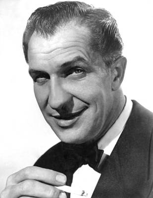 While The City Sleeps, Vincent Price Poster by Everett
