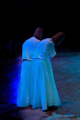 Whirling Dervish - 2 Poster by Okan YILMAZ