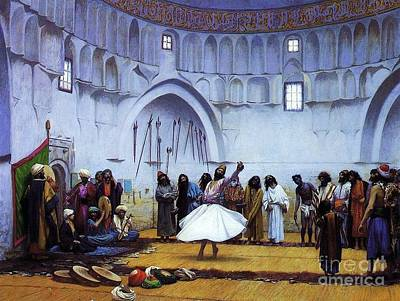 Whirling Dervishes Poster by Pg Reproductions