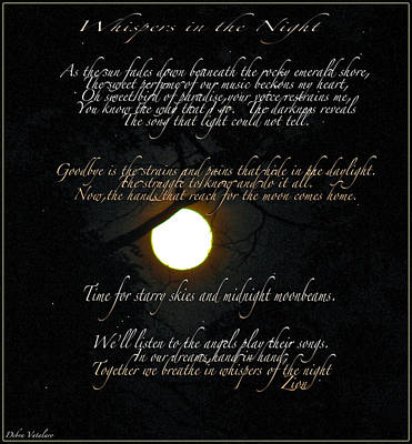 Whispers In The Night Poster