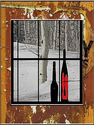 White Birch Tree - 4 Poster