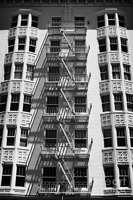 White Building Poster by Hideaki Sakurai