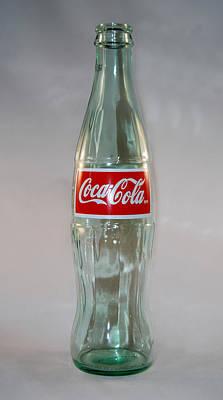 White Coke Poster by Skip Willits