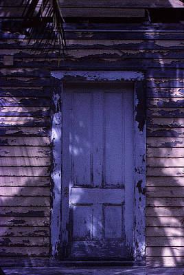 White Door Poster by Bob Whitt