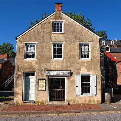 White Hall Tavern Harpers Ferry Virginia Poster by Dave Mills