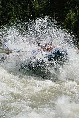 Whitewater Rafting The Lunch Counter Poster