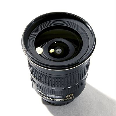 Wide-angle Zoom Camera Lens Poster