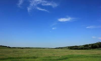 Wide Open Alberta Prairies Poster