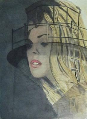 Widows Walk Poster by Christian Lebraux Kennedy
