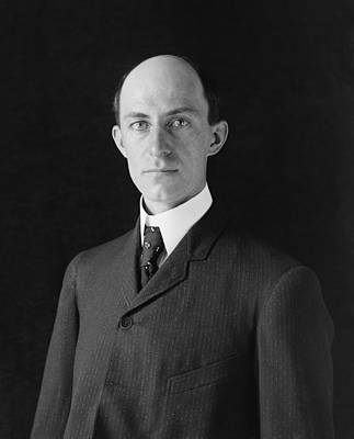 Wilbur Wright 1867-1912 At Age 38 Poster