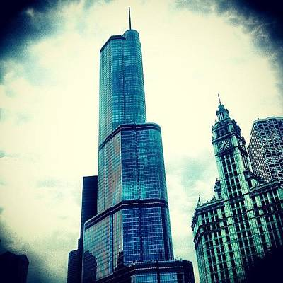 Willis Tower In #chicago Poster