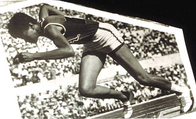 Wilma Rudolph, Winner Of 3 Gold Medals Poster