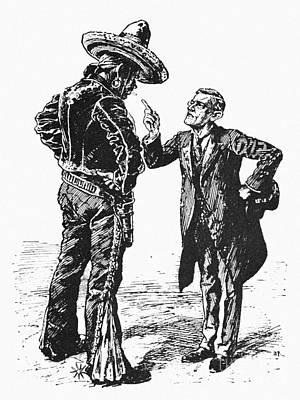 Wilson & Mexico, 1913 Poster