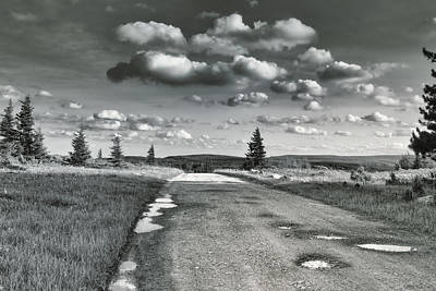 Poster featuring the photograph Winding Road by Mary Almond