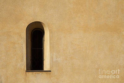 Window And Stucco Poster