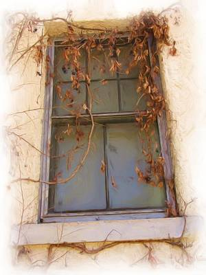Window In Time Poster by FeVa  Fotos