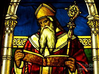 Window Of Saint Agustine Poster by Pg Reproductions