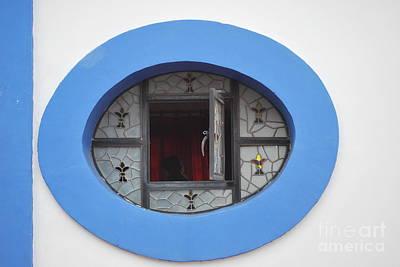 Window Of Secrets Poster by Anne Gordon