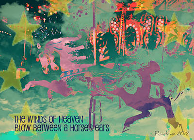 Winds Of Heaven Poster by Poni Trax