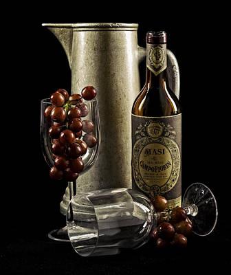 Wine Anyone? Poster by Jen Morrison