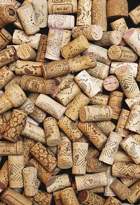 Wine Bottle Corks Poster