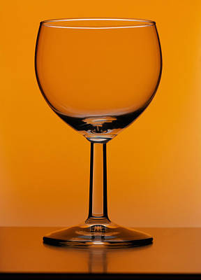 Wine Glass Poster by Andrew Lambert Photography