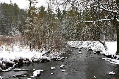 Winter On Bear Creek Poster